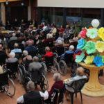 Arena grupo musical ofreció un recital de música en la residencia de mayores San Pedro Advíncula.