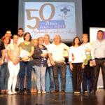 33 peñarandinos recibieron sus medallas por el número de donaciones de sangre.