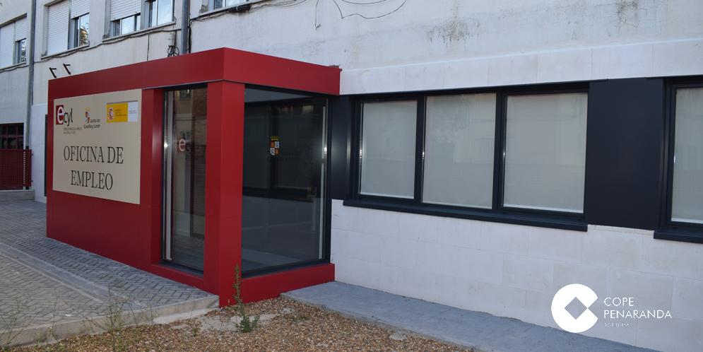 La oficina del ecyl de la comarca la nica de la provincia for Oficina del paro murcia