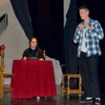 Los jóvenes actores del grupo Ilusiones representaron «Bodas de sangre» en el Calderón.