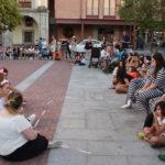 Los actos del grupo Ilusiones representaron dos obras de micro-teatro.
