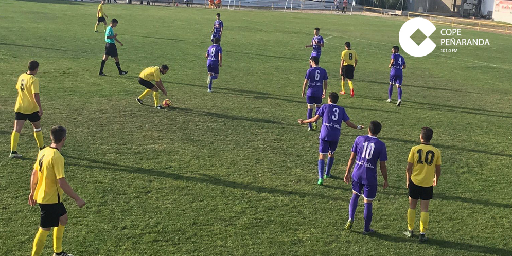 El CD Peñaranda y el CDF Mojados se repartieron los puntos.