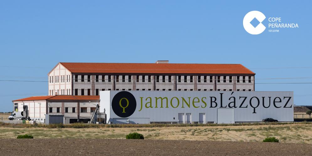 Instalaciones de Jamones Blázquez en Peñaranda de Bracamonte.