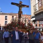 Decenas de personas participaron en las celebraciones religiosas en honor al Cristo de San Luis