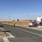 Una mujer falleció en un accidente de tráfico en Cantalapiedra.