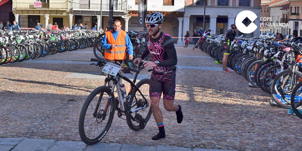 Nacho Comillas ganó el IV Duatlón Cross Ciudad de Peñaranda