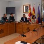 El subdelegado del Gobierno presidió la Junta local de Seguridad.