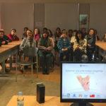 Una treintena de personas acudieron a la charla formativa sobre el Alzhéimer.