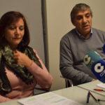 Carmen Ávila e Isidro Rodríguez, durante la rueda de prensa.