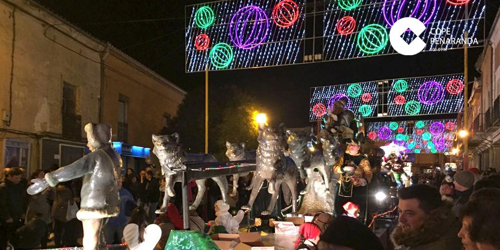 Coaspe ha solicitado mejoras en la iluminación ornamental de Navidad.