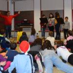 Alumnos de la Escuela municipal de música visitaron la biblioteca peñarandina.
