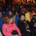 El público llenó el teatro Calderón para disfrutar de esta Gala navideña.