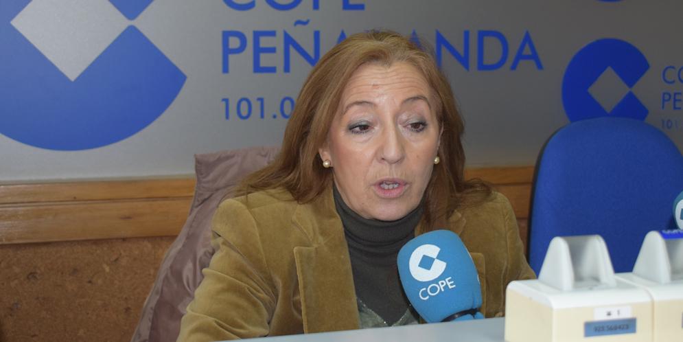 La portavoz del PP, Carmen Familiar, en COPE Peñaranda.