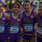 Los atletas macoteranos que participaron en el Campeonato de España de Media maratón