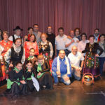 Ocho grupos y artistas peñarandinos actuaron en este Festival solidario.