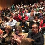 El teatro del CDS acogió el Festival Sonrisas y solidaridad a favor de la Asociación síndrome Idic15.