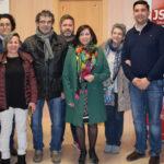Comisión ejecutiva de la Agrupación socialista de Peñaranda.
