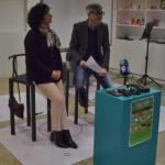 La concejala de cultura, Araceli Rodríguez, y el coordinador cultural del CDS, Carlos Vicente, presentaron la programación cultural.