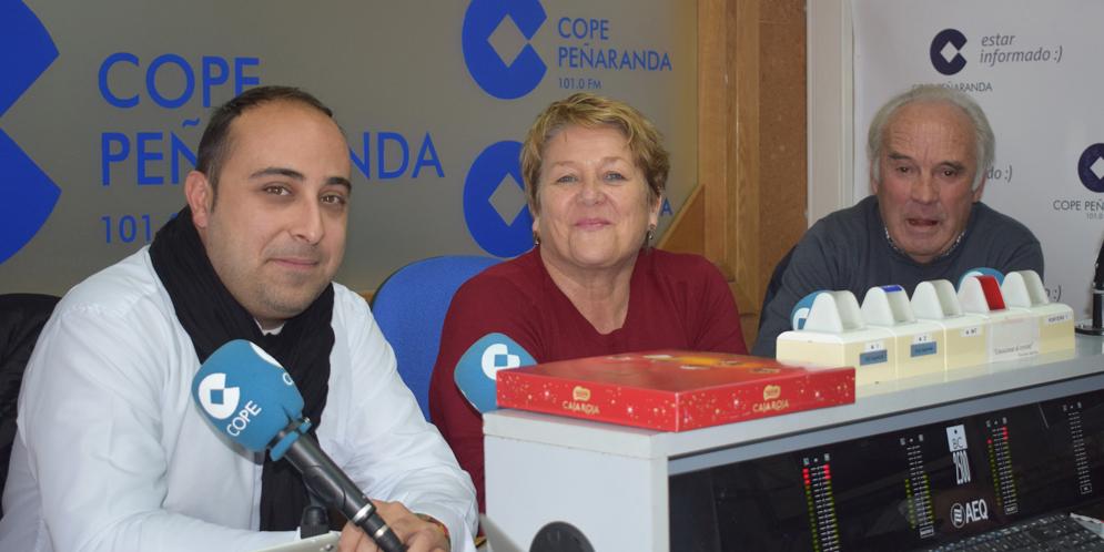 Raúl Blázquez, Paquita Diaz y Marino Pérez, en La Mañana.