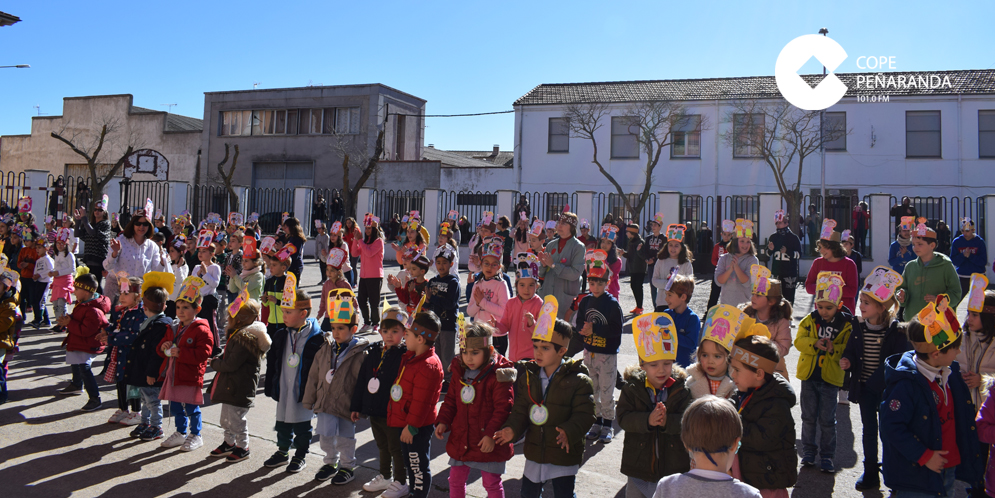 El CEIP Miguel de Unamuno celebró el Día escolar de la paz y la no violencia.