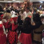 Cientos de personas participaron en el baile infantil de Carnaval.