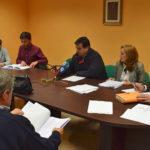 Un momento del pleno de la Mancomunidad de municipios de la comarca de Peñaranda.