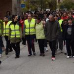 Cientos de personas participaron en la XI Marcha solidaria de Acopedis.
