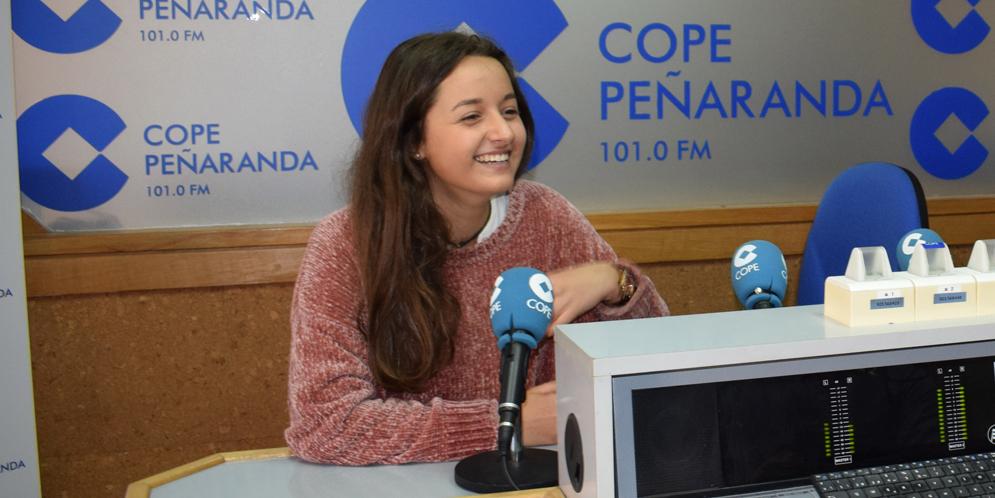 Ana Jiménez, alumna del Colegio de la Encarnación becada por la Fundación de Amancio Ortega.
