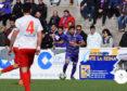 Fran Herrera consiguió el gol del empate para el Peñaranda.