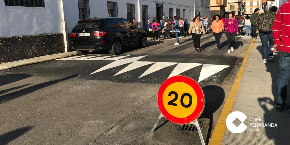 El Ayuntamiento ha encargado construir dos pasos elevados junto al CEIP Miguel de Unamuno.