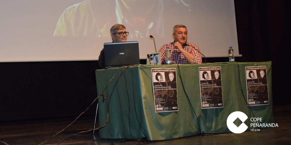 Juan Carlos Delgado, «El Pera», ha impartido hoy una charla en el CDS.
