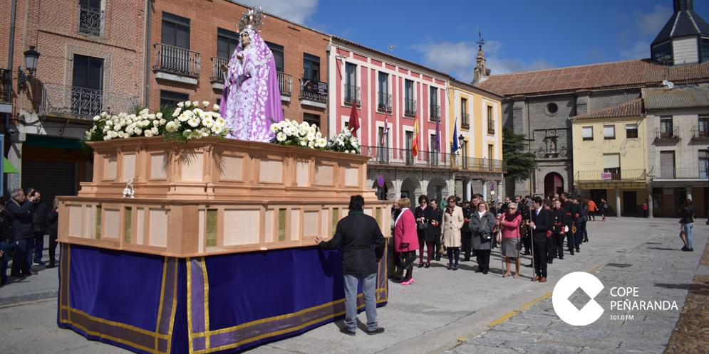 Nuestra Señora de la Misericordia recorrió las plazas de Peñaranda.