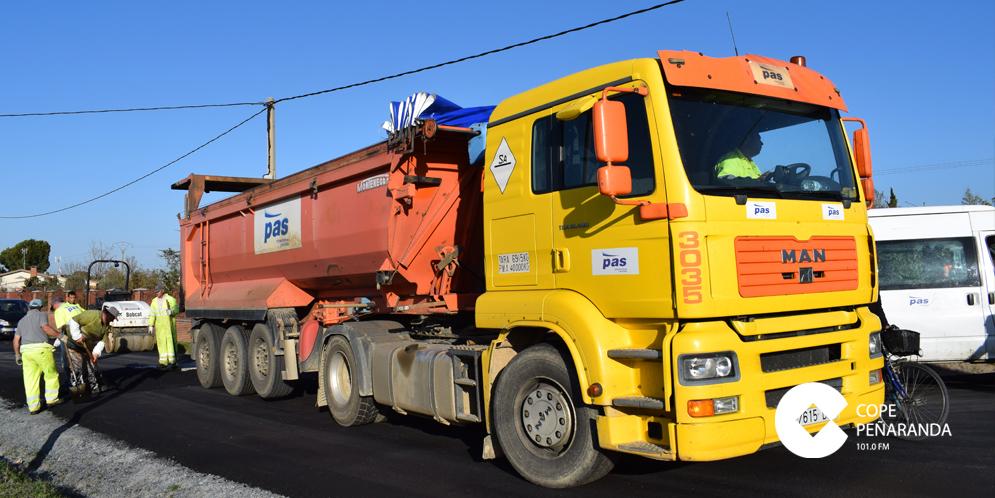 Estos días han finalizado las obras de asfaltado del camino de las Verónicas.