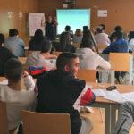 La iniciativa Hoja en blanco impartió los talleres sobre emprendimiento en el CITA.