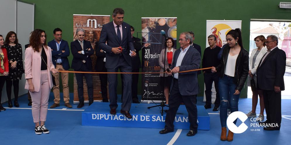 Miles de personas visitaron la XII Feria Agroalimentaria de Macotera y IV Feria Macoinnova