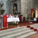 El obispo de la Diócesis presidió la celebración de la confirmación de la fe de veinte jóvenes peñarandinos.