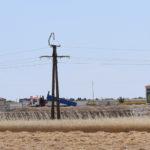 En la zona de la carretera de Aldeaseca se está construyendo un matadero.