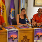 Nani, Pilar García, y Luis Berrocal, presentaron el X Torneo de tenis de mesa.