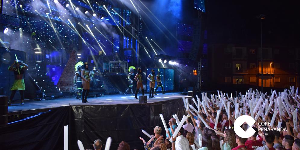 4.300 personas abarrotaron el parque de La Huerta para ver el concierto de Panorama.