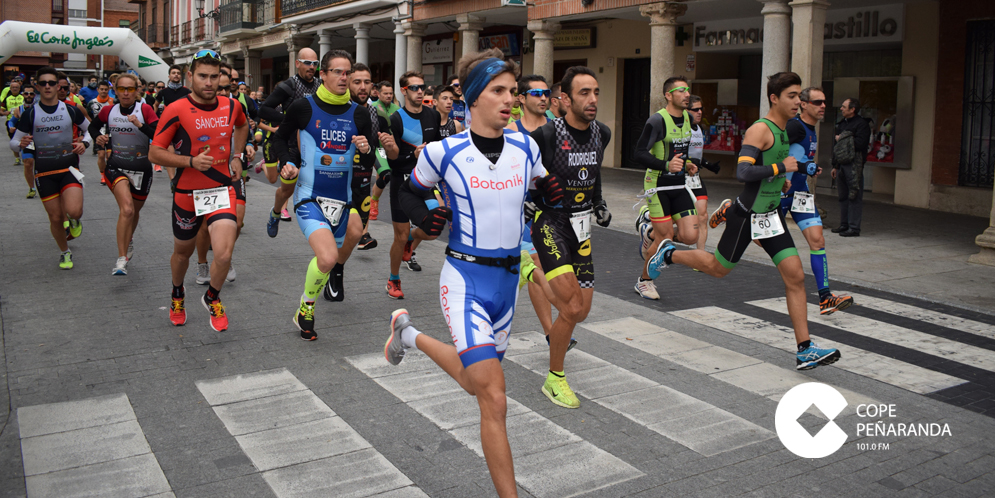 84 corredores participaron en la prueba absoluta del V Duatlón-cross de Peñaranda.