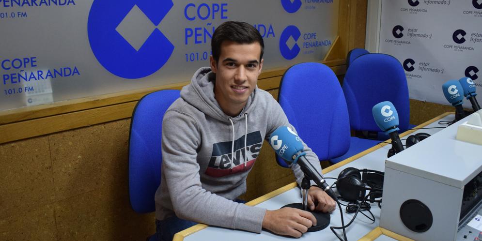 Jorge Villardon, jugador del CD Peñaranda.