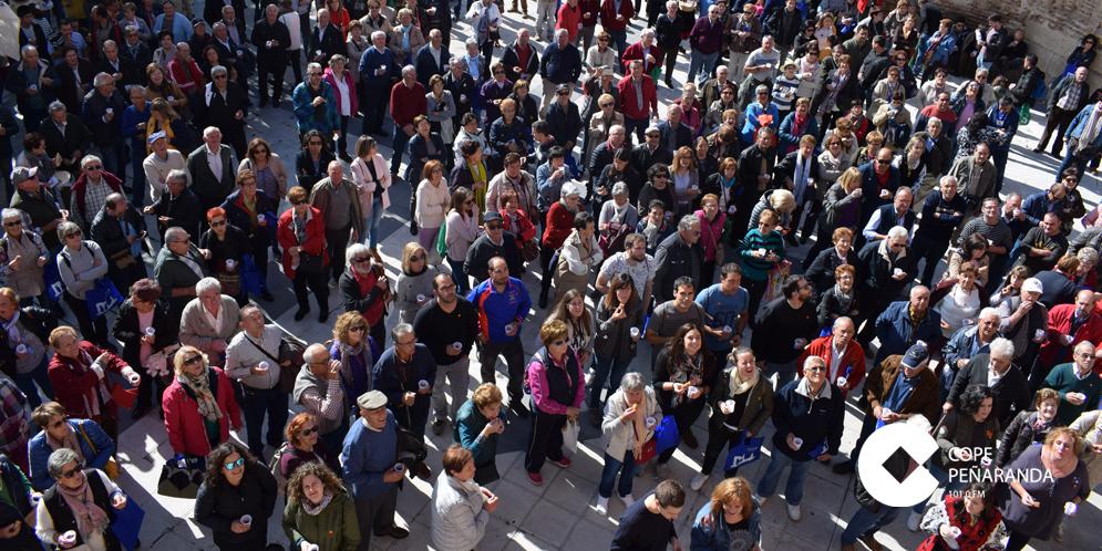 Más de 500 personas acudieron al III Encuentro de municipios Comunidad Viva Castilla y León.