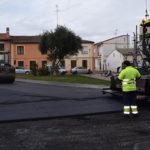 La empresa Padecasa se ha encargado de asfaltar estas tres calles.