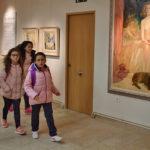 La Casa del arte fue una de las instalaciones que se visitan en esta actividad.