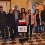Los promotores de la campaña «Un perro para Ahinoa» presentaron algunas de las actividades previstas.