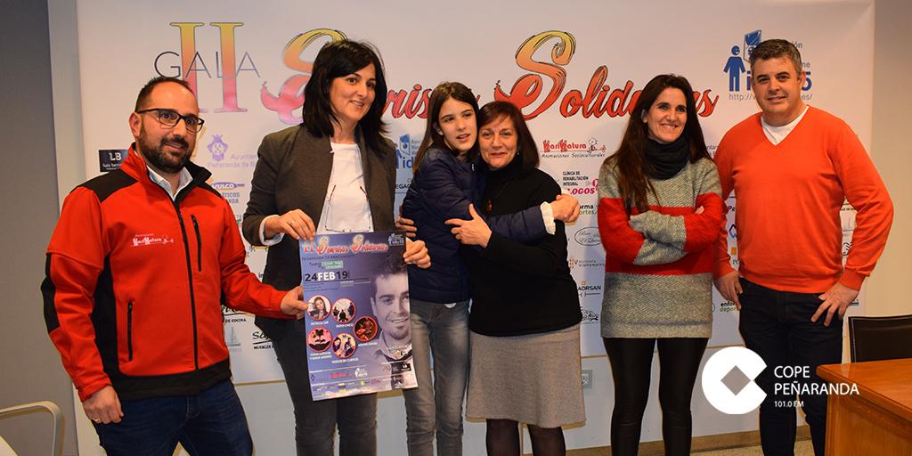 Las instituciones organizadoras presentarán la II Gala «Sonrisas solidarias».