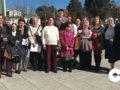 Los participantes en el encuentro anual de las Voluntarias de San Vicente de Paúl.