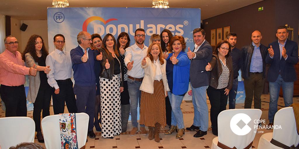 El Partido Popular de Peñaranda presentó su candidatura al Ayuntamiento de Peñaranda.