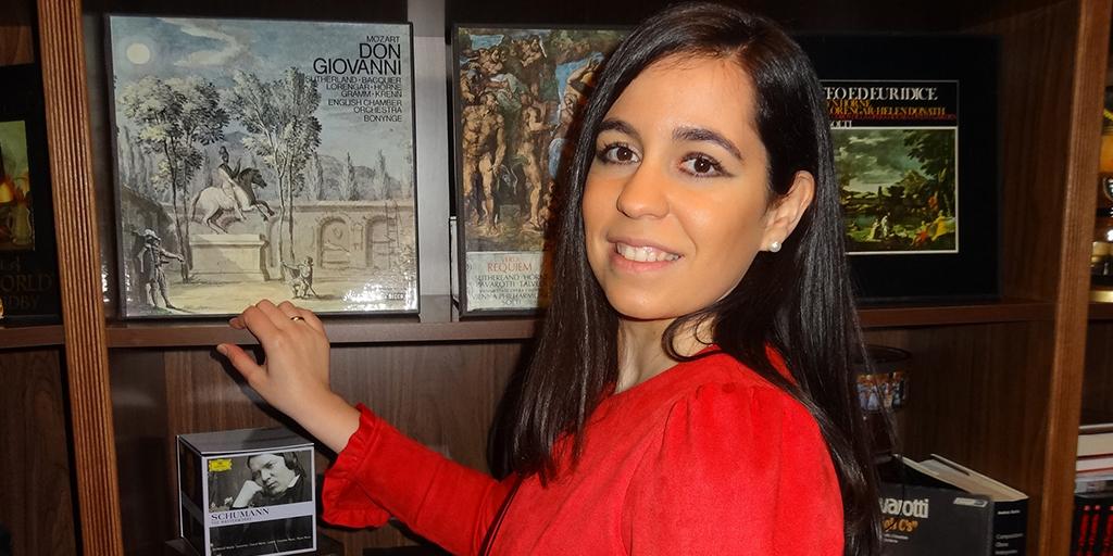 La musicóloga peñarandina, Virginia Sánchez Rodríguez.