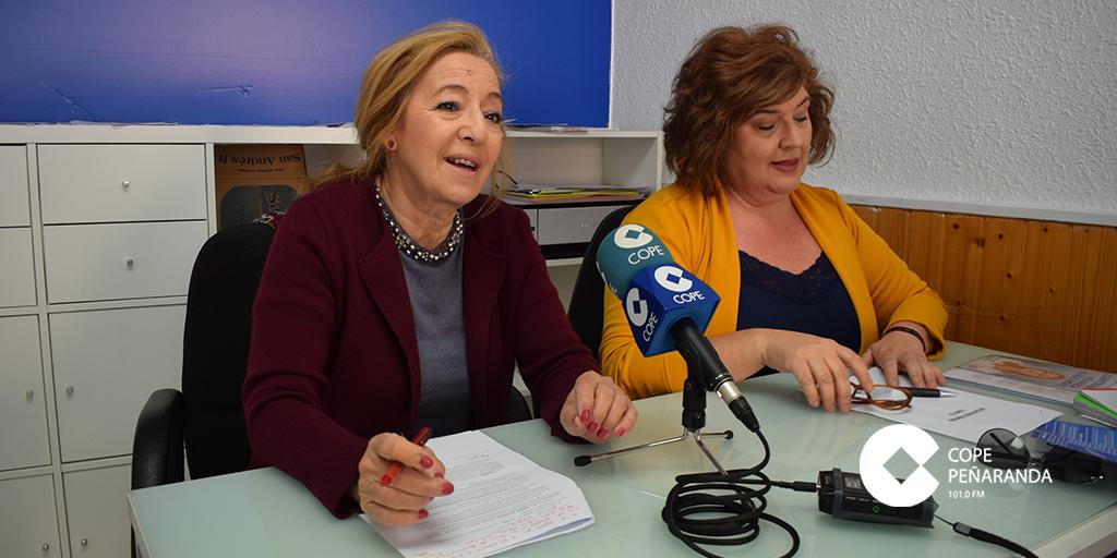 Carmen Familiar y Marivi Muñoz, candidatas del PP.